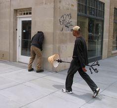 Mark Jenkins - public art