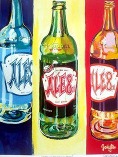 """Kentucky Ale 8-1 """"Kentucky Pop"""" Signed Art Print by KentuckyPopArt on Etsy https://www.etsy.com/listing/120737469/kentucky-ale-8-1-kentucky-pop-signed-art"""