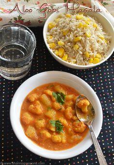 Aloo Gobi Masala Recipe - Punjabi Aloo Gobi Recipe