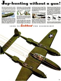 1943 ... look to Lockheed! | Flickr - Photo Sharing!