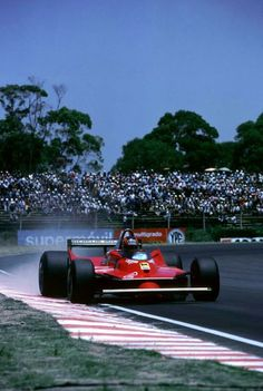 #2 Gilles Villeneuve...Scuderia Ferrari SpA SEFAC...Ferrari 312T5...Motor Ferrari 015 F12 3.0...GP Argentina 1980