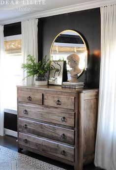Our Almost Finished Master Bedroom with All Source Information - Dear Lillie Studio Dream Bedroom, Home Bedroom, Bedroom Decor, Master Room, Home Decor Inspiration, Decor Ideas, Men Decor, Bedroom Styles, Beautiful Bedrooms