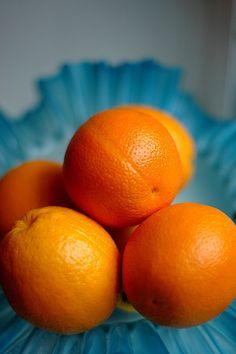 orange & aqua- a GREAT combo