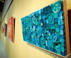 Image result for art with litter