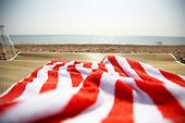 Beach towel Beach Towel, Beach Mat, Summer Loving, Red And White Stripes, Travel Images, Image Photography, Image Collection, Illustration Art, Outdoor Blanket