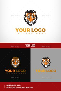 Multi Purpose Tiger Logo — Vector EPS #car #rock • Available here → https://graphicriver.net/item/multi-purpose-tiger-logo/15556282?ref=pxcr