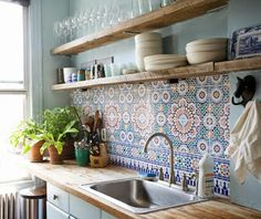 Decorative Tiles For Kitchen 35 Awesome Bohemian Style Kitchen Remodel Ideas  Bohemian Style
