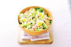 Kartoffelsalat met asperges en ei - Recept - Allerhande