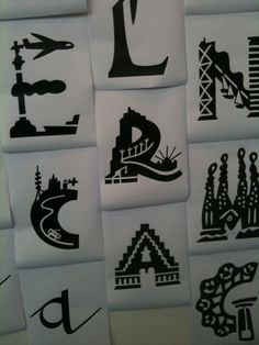 mariscal  @Max Strandlund Strandlund Strandlund Gaeta Typography, Illustration, Artist, Prints, Barcelona, Color, Inspiration, Type, Architecture