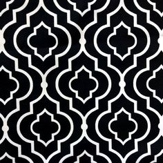 Really enjoying the great dramatic effect you can achieve with black and white. This outdoor fabric design is a great geometric design that is always popular. Available online from our Outdoor Fabrics