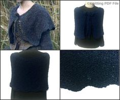 Outlander Inspired Gathering Shawl Printed Knitting Pattern