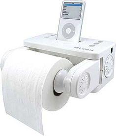 iCarta iPod Toilet Holder ($60)