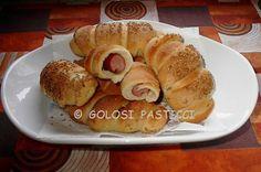 Rollò+ai+wurstel,+ricetta+