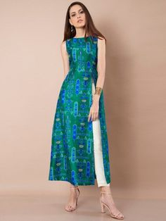 15 Latest And Modern Silk Kurtis For Women