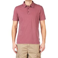 Billabong Corrent Polo Shirt - Dirty Plum | Free UK Delivery
