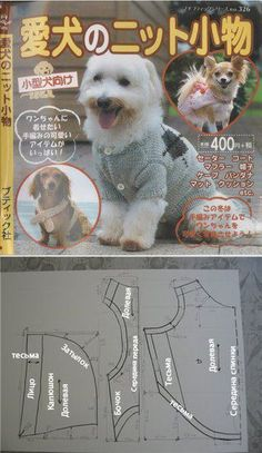 Free Dog Shirt-coats, sweaters-dresses-caps-pants, bandanas, etc... Patterns & Instructions