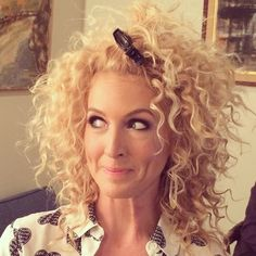 Kimberly Schlapman of Little Big Town talks holy grail products for Curly Hair