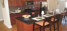 Granite is a heavy material that is not is easy to install on your own. Your existing counters may require additional support to accommodate the Kitchen granite countertops. Once the Granite is installed in your kitchen.