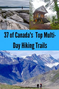 Here are 37 long distance and backpacking trails in Canada. There are trails in every province and territory ranging in length from 35 to 1200 kilometers. Backpacking Trails, Hiking Trails, Hiking Places, Places To Travel, Voyage Canada, Canadian Travel, Visit Canada, Colorado Hiking, Best Hikes