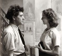 Liberman, Alexander - Alberto Giacometti and Annette Arm (1951)