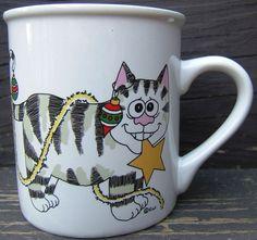 Check out Cat Kitten Christmas Tree Ornaments Gold Star Garland Ceramic Mug Vintage E.W.    http://www.ebay.com/itm/Cat-Kitten-Christmas-Tree-Ornaments-Gold-Star-Garland-Ceramic-Mug-Vintage-E-W-/151699154931?roken=cUgayN&soutkn=KQ3QEX via @eBay