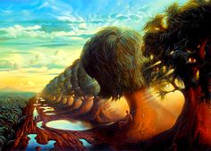 70 amazing paintings by the surrealist artist Vladimir Kush who also being called Russian Salvador Dali Vladimir Kush, Salvador Dali Gemälde, Salvador Dali Paintings, Magritte, Wassily Kandinsky, Famous Impressionists, Fantasy Kunst, Fantasy Art, Surreal Artwork