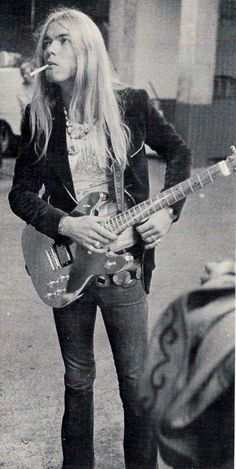Gregg Allman, babe.  ~ was able to meet Gregg on Beale Str. ,  Have his autograph somewhere.