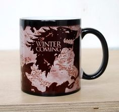 Wow check out these cool Game of Thrones Heat Changing Mug on sale now for a limited time only. Get yours today stock is limited on these items.