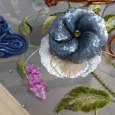 Flower Brooch: