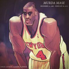 Knicks late great forward Anthony Mason aka Murda Mase