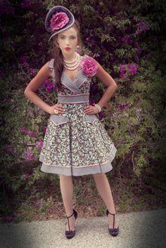 Tea Party Collar Dress...so cute