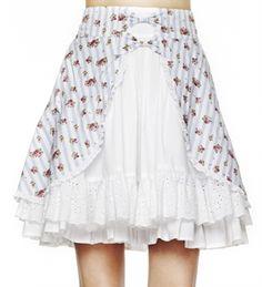 Hell Bunny Sara Key Skirt
