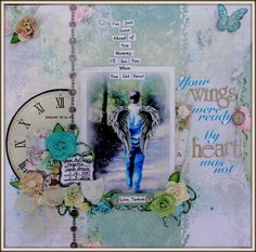 Your+Wings - http://mycreativescrapbook.com for May 2016 with the gorgeous Limited Edition kit. Bo Bunny papers