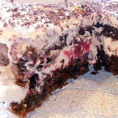 gaflen, så skal den have lidt mere. Poke Cakes, Lava Cakes, Fudge Cake, Brownie Cake, Honey Pie, Custard Cake, Danish Food, Gingerbread Cake, Sweets Cake