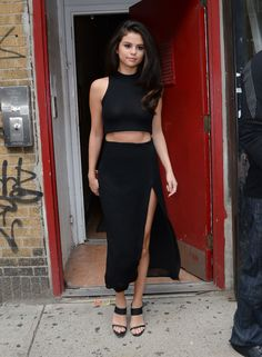 Selena Gomez Completes the Blake Lively 10-Outfit Challenge  - ELLE.com