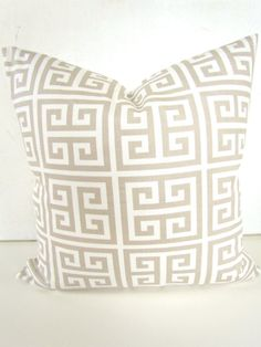 TAN PILLOWS TAN Throw Pillow Covers Tan Decorative Pillow
