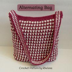 Alternating Bag ~ FREE Crochet Pattern