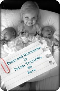 Deals and Discounts for Twins, Triplets, or More