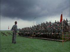 Full Metal Jacket (1987) by Stanley Kubrick, starring Matthew Modine, Vincent D'Onofrio, Adam Baldwin 9.4/10
