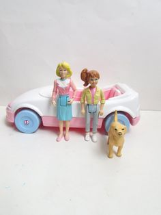 Playskool 1992 Convertible Car With Teenage by TimelessToyBox
