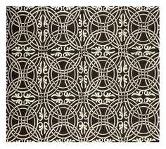Celt-like patterned wall tiles.