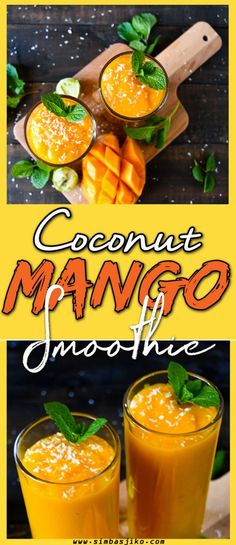 Mango Coconut Tropicana - Simbas Jiko