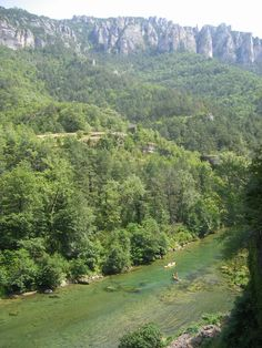 Gorges du Tarn - near Le Rozier, France