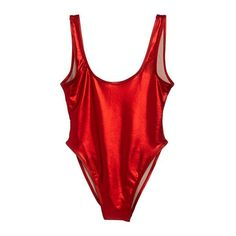 METALLIC RED [BLANK SWIMSUIT] | PRIVATE PARTY