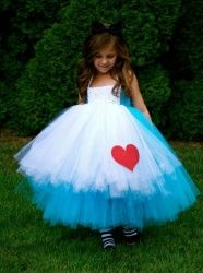 Alice in Wonderland Tutu Dress Preorder (Girls Halloween Dresses & Boys Outfits). Alice in Wonderland Tutu Dress.