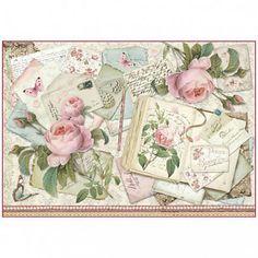 kreativne.potreby / Ryžový papier Stamperia č.DFS373 - 48x33cm - objednané