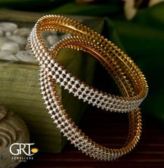 Jewelry Set 25 Never Seen Before Jewellery Set Designs To Shop Now Gold Bangles Design, Gold Earrings Designs, Silver Bangle Bracelets, Diamond Bangle, Ruby Bracelet, Jewelry Bracelets, Antique Jewellery Designs, Gold Jewellery, Silver Jewelry