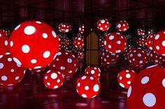 "Image of Yayoi Kusama ""A Dream I Dreamed"" Exhibition @ MoCA Shanghai Recap"
