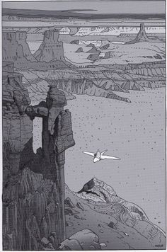 "Moebius 2008 - From ""ARZAK Destination Tassili #1- The Return of a Legend"""