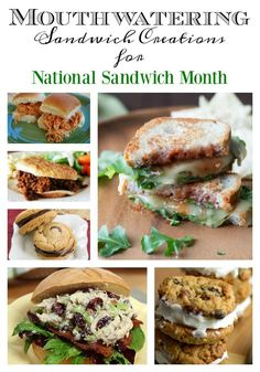 Mouthwatering Sandwich Creations for #NationalSandwichMonth